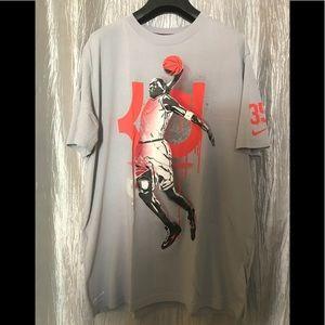 nike Shirts - Nike Dri Fit KD Tee Mens Large